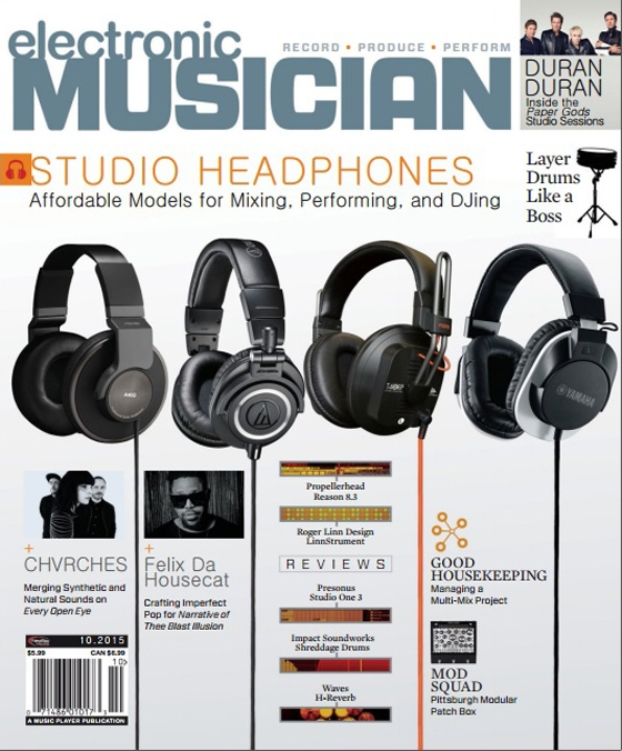 Electronic Musician October 2015